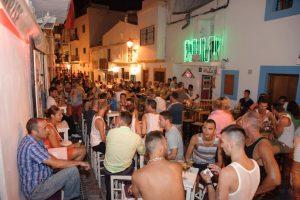 Calle de la Virgen in Ibiza