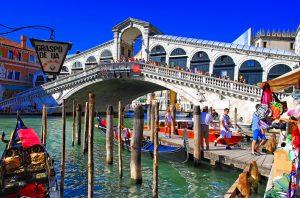 Rialtobrug in Venetië