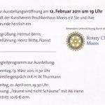 Ausstellungs-Einladung ins Peschken-Haus