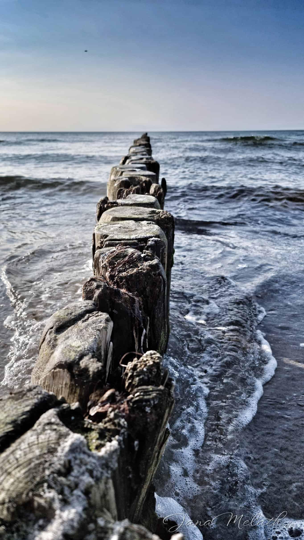 Urlaubserinnerungen - Bunen in der Ostsee