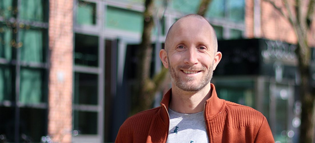 Enzyme researcher Johan Larsbrink is one of the new members in The Young Academy of Sweden. Photo: Martina Butorac / Chalmers