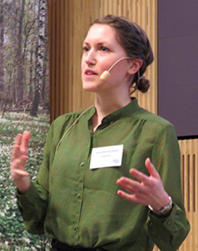 Jenny Bååth. Photo: Camilla Herrera/Svensk Papperstidning