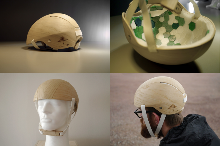 CelluFoamTM Helmet