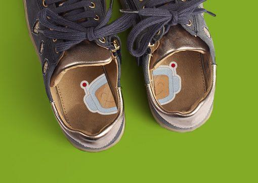 1-2-Go! schoenstickers - Robots