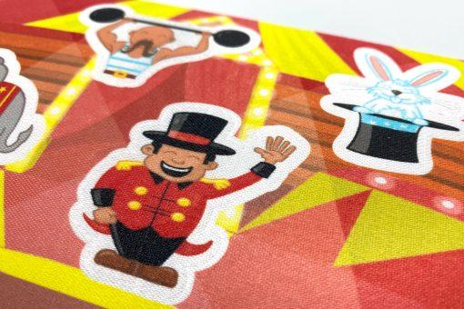 1-2-Go! schoenstickers - Circus