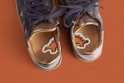1-2-Go! schoenstickers - Dino's