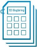 1 2 3 Bogføring & Bogholderi logo