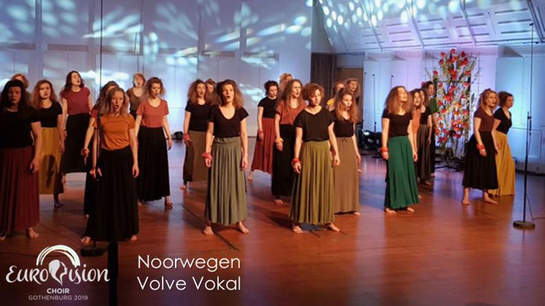 Eurovision Choir 2019: Volve Vokal uit Noorwegen.