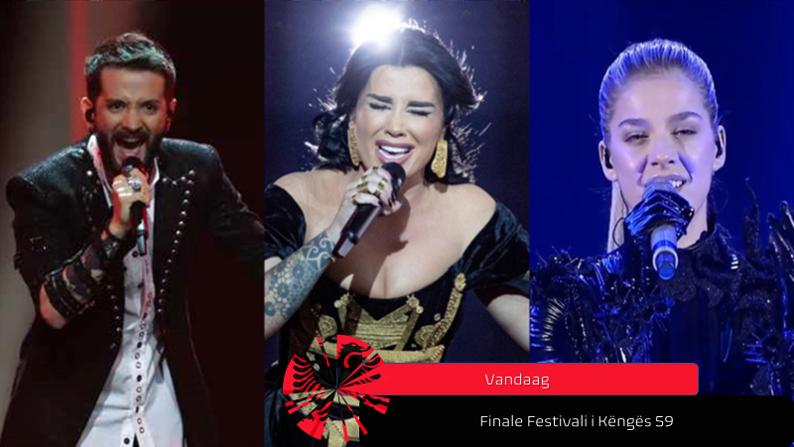 Vanavond| Finale Festivali i Këngës 59.