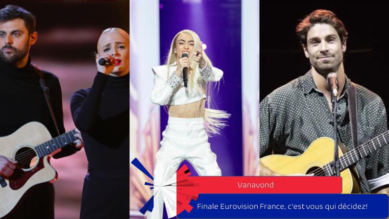 Vanavond| Finale Eurovision France, c'est vous qui décidez!.