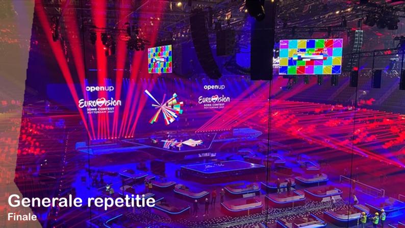 RotterdamLIVE| Eerste generale repetitie Finale.