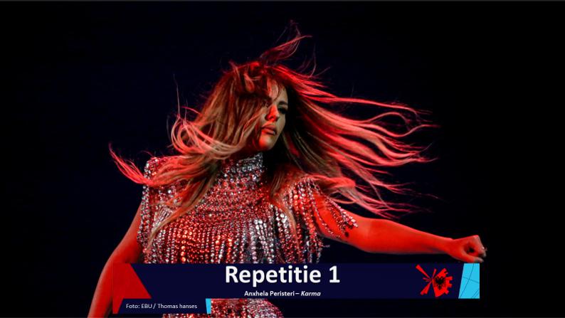 RotterdamLIVE| Eerste repetitie van Albanië.