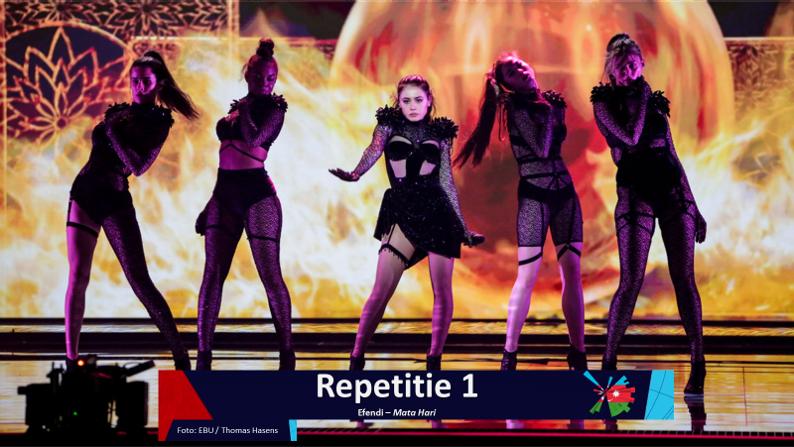 RotterdamLIVE| Eerste repetitie van Azerbeidzjan.