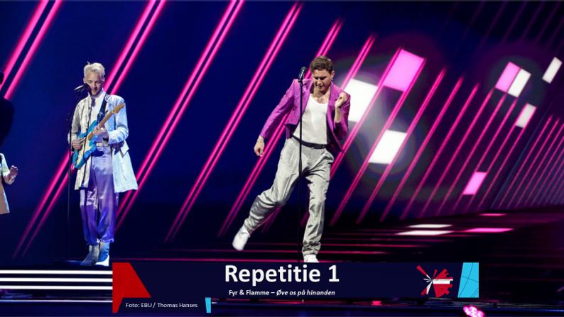 RotterdamLIVE| Eerste repetitie van Denemarken.