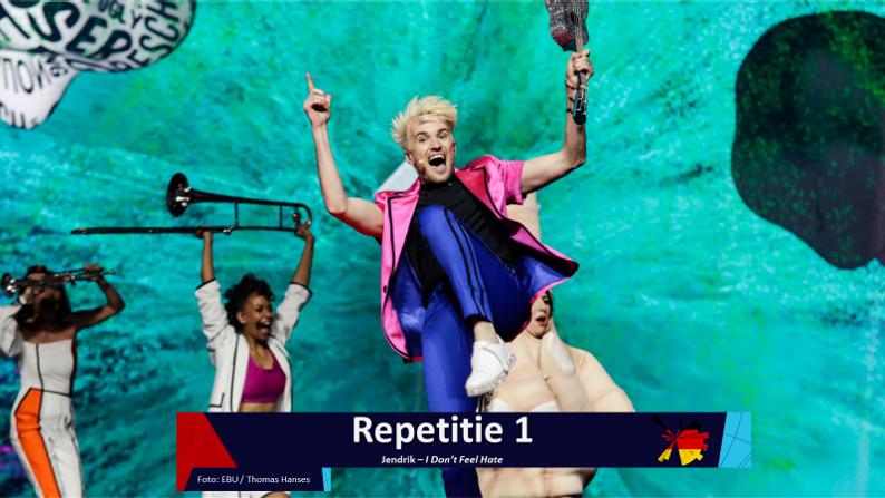 RotterdamLIVE  Eerste repetitie van Duitsland.