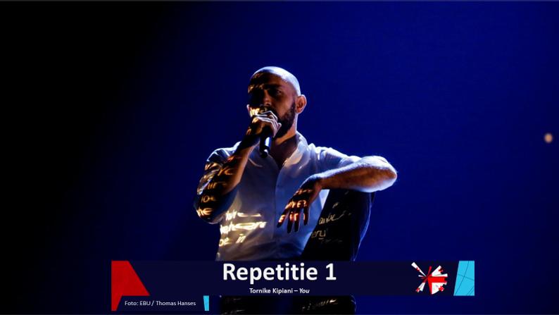 RotterdamLIVE| Eerste repetitie van Georgië.