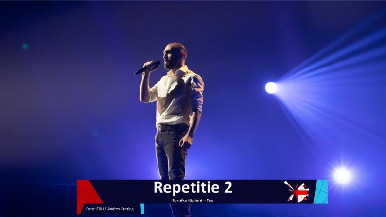 RotterdamLIVE| Tweede repetitie van Georgië.