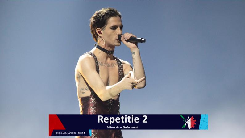 RotterdamLIVE| Tweede repetitie van Italië.