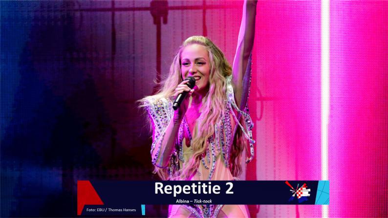 RotterdamLIVE| Tweede repetitie van Kroatië.