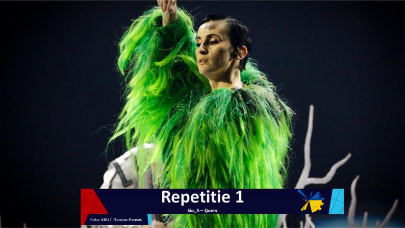 RotterdamLIVE| Eerste repetitie van Oekraïne.