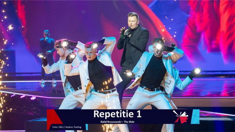 RotterdamLIVE| Eerste repetitie van Polen.