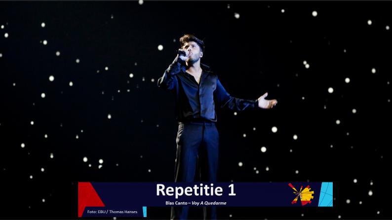 RotterdamLIVE  Eerste repetitie van Spanje.