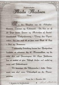 vorup-socialdemokratisk-vaalgerforening-1941