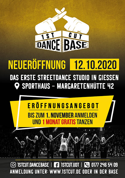 Neueröffnung Dance Base