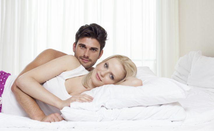Forelsket ungt par