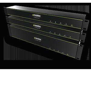 Madrix Luna 16 är en en enkel att använda och pålitlig nätverksnod med en unik egenskap att kontrollera Led-displayer
