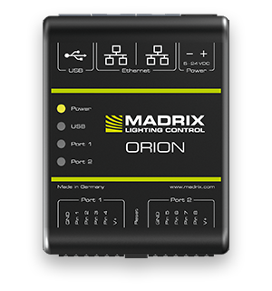 Madrix Orion är en kraftfull A/D konverter