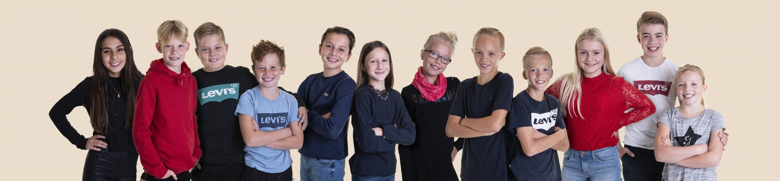 Klassebilledet til skolefotografering