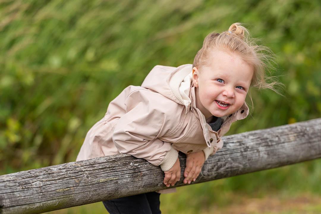 Smukke naturportrætter til børnehavefotograferingen