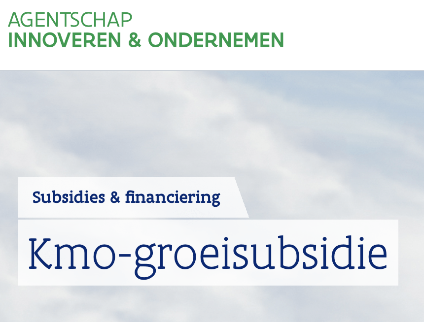 KMO-groeisubsidie VLAIO Vlaanderen