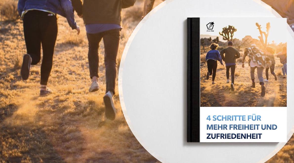 Mehr Freiheit und Zufriedenheit - Buchcover