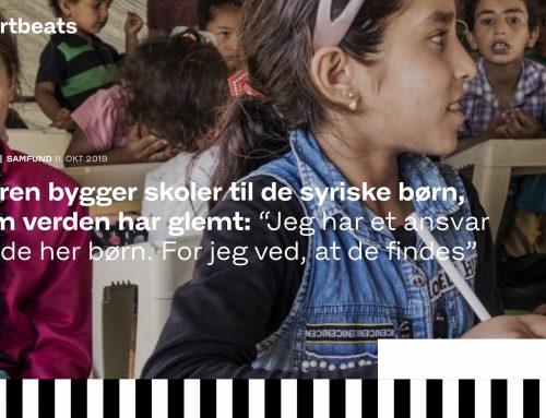 """""""Maren bygger skoler til de syriske børn, som verden har glemt"""""""