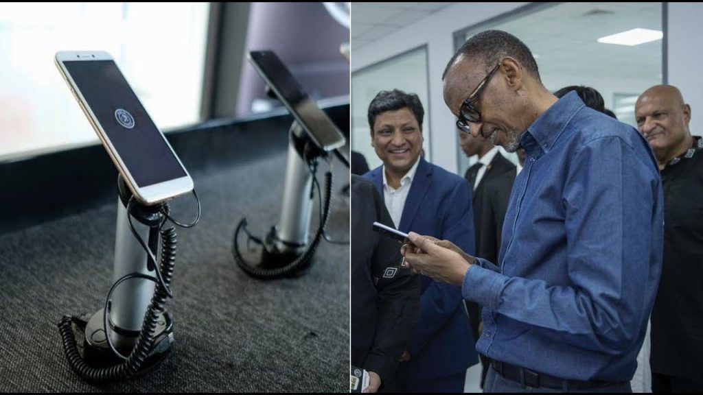Rwanda launches 'first made-in-Africa' smartphones