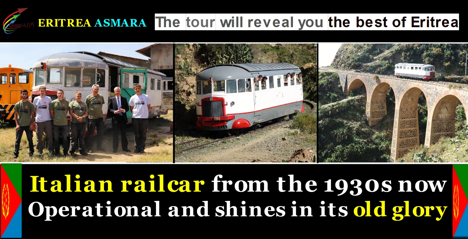 The tour will reveal you the best of Eritrea