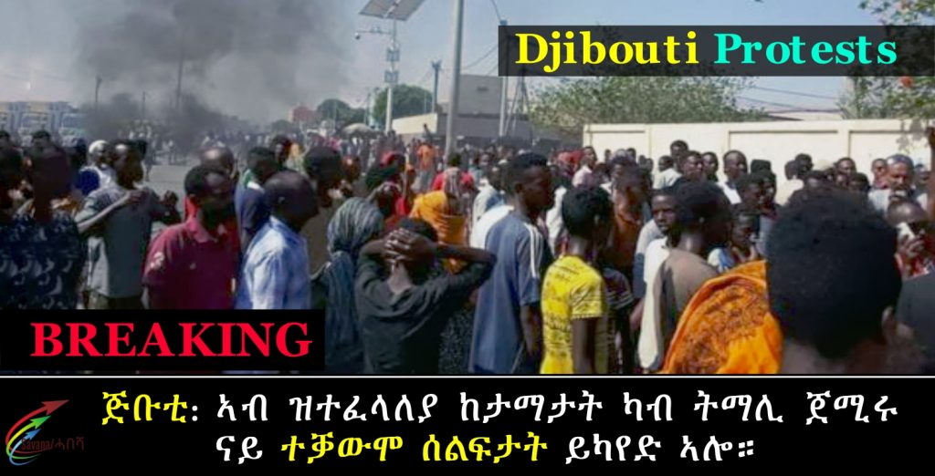 In Djibouti, opposition protests