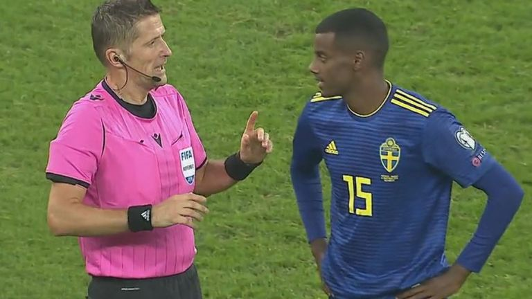 Football: Isak subjected to racist abuse in Romania as