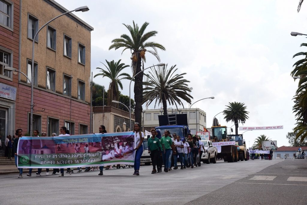 Colorful pictures of today's carnival in Asmara
