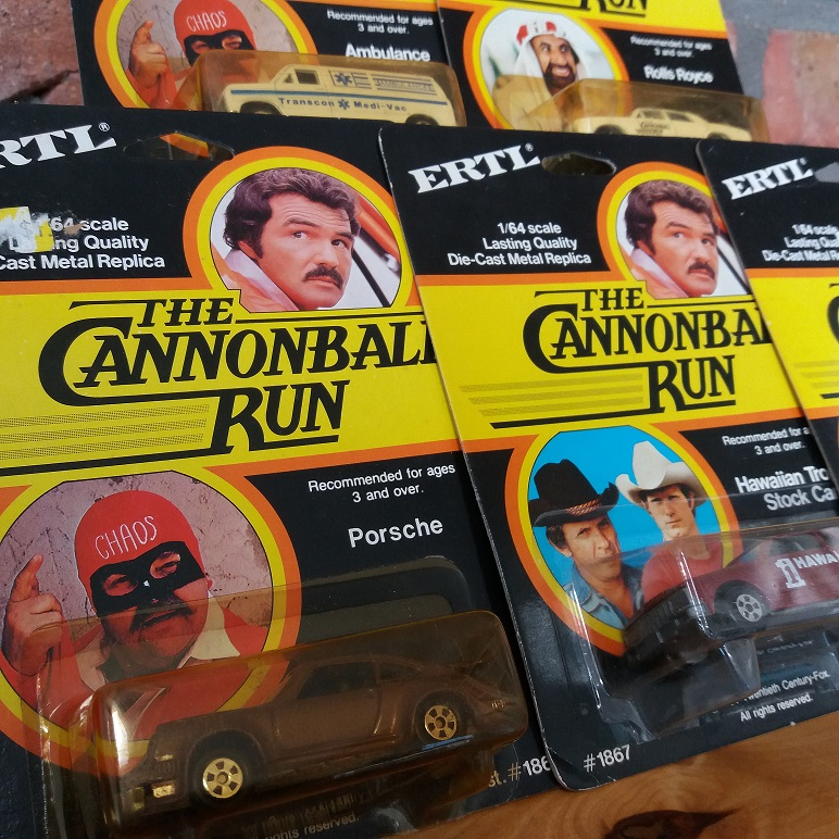 ERTL Cannonball Run die cast cars