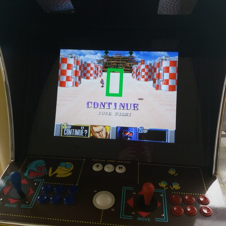 GI Joe A real American Hero Arcade Game