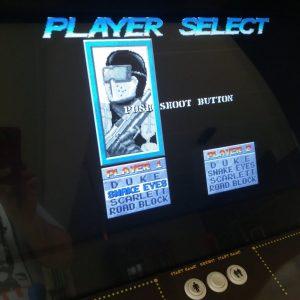 GI Joe the arcade Game