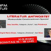 Literatur antwortet 10.5.2020