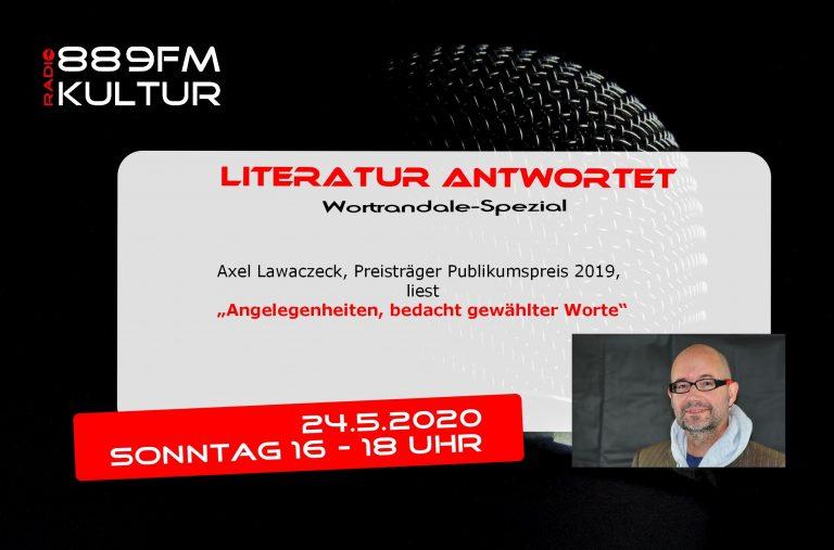 Literatur antwortet 24.5.2020