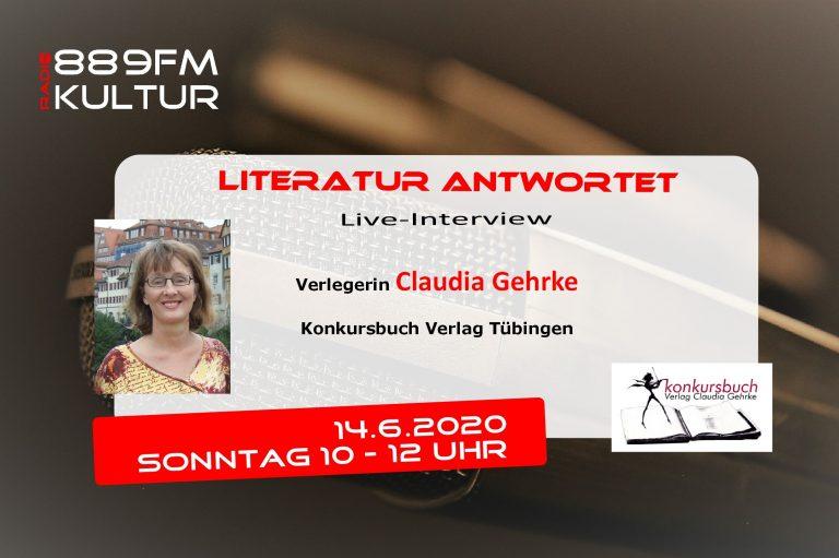 Literatur antwortet – Verlegerin Claudia Gehrke