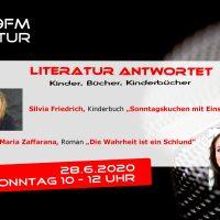 Literatur antwortet 28.6.2020