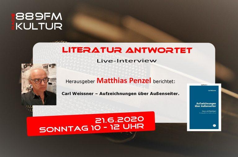 Literatur antwortet Matthias Penzel