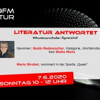 Literatur antwortet 7.6.2020